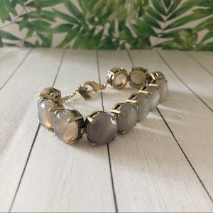 Baublebar lilac and bronze bracelet